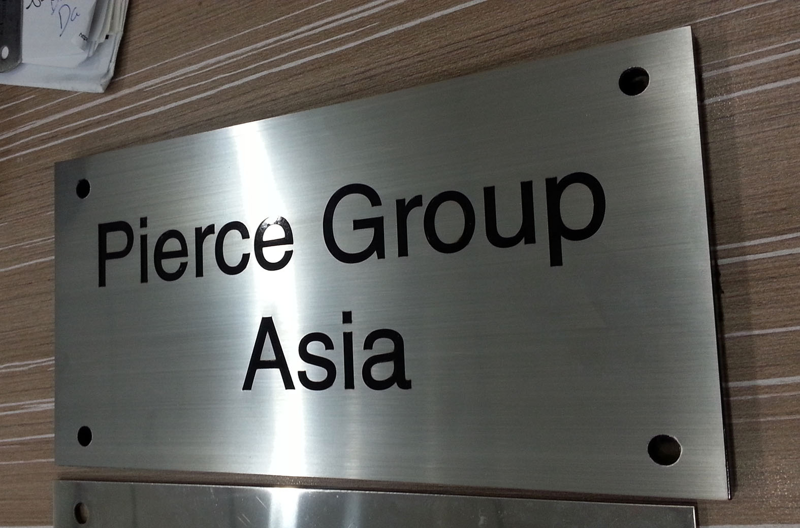 Relatively Stainless Steel Etching | Singapore Signage Supplier, Signboard  QU44